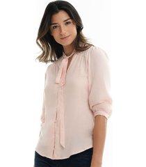 blusa para mujer color rosa-mag