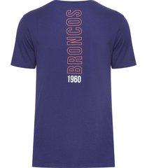 camiseta masculina versatile sifnature denbro - azul