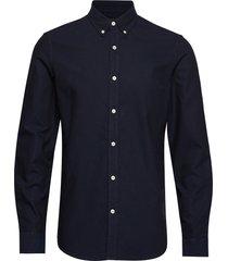 oxford sawsett overhemd casual blauw mads nørgaard
