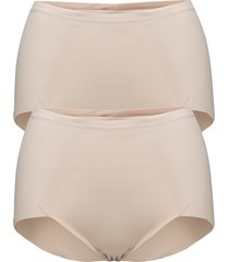 sleek smoothers lingerie shapewear bottoms beige maidenform