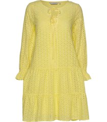 nualzbet dress kort klänning gul nümph