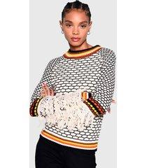 sweater glamorous multicolor - calce regular
