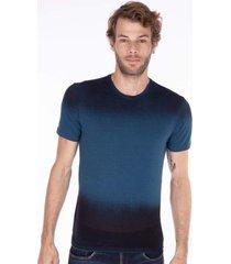camisetas khelf camiseta masculina spray devorê verde
