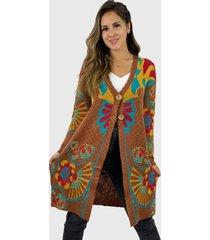 chaleco lana hippie café enigmática boutique
