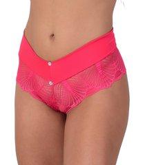 calcinha vip lingerie renda guipir vermelho