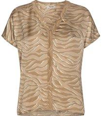 ariana zebra blouse 138571