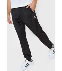 pantalón negro adidas originals trifolio essentials