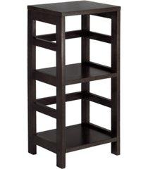 2-tier narrow leo shelf