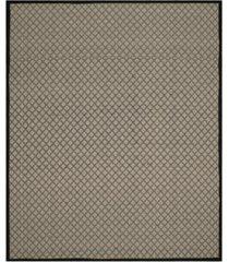 safavieh four seasons ivory and black 8' x 10' sisal weave area rug
