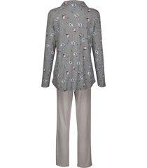 pyjamas blue moon silvergrå/rosa/ljusblå