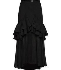 coja knälång kjol svart totême