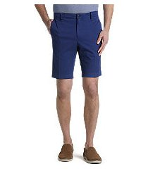 1905 collection tailored fit flat front shorts - big & tall by jos. a. bank