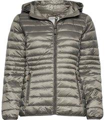 jackets outdoor woven gevoerde lange jas grijs esprit casual