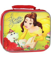 belle disney princess beauty & beast lead-free insulated lunch tote box nwt $20