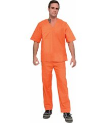 buyseasons orange prisoner suit adult costume