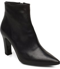 booties 3365 shoes boots ankle boots ankle boots with heel svart billi bi