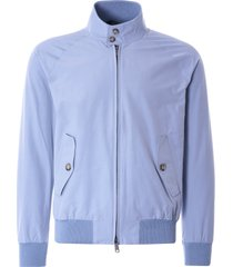 baracuta g9 suede harrington jacket | cloud | brcps01-349