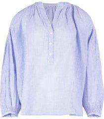 vanessa bruno blouse lichtblauw