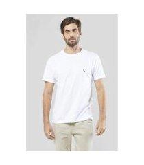 camiseta gota pica-pau bordado reserva masculina