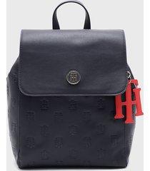 mochila int th charming backpack azul tommy hilfiger