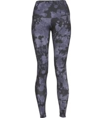 onzie women's high waisted yoga leggings - amethyst tie dye x-small spandex