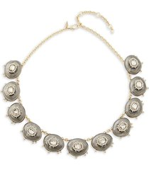 alexis bittar women's 10k goldplated, lucite & crystal necklace