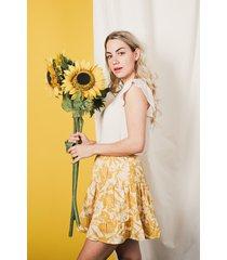 femme9 rok geel solene