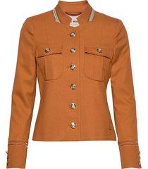 selby twiggy jacket blazers casual blazers oranje mos mosh