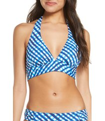 women's tommy bahama harbour island reversible halter bikini top
