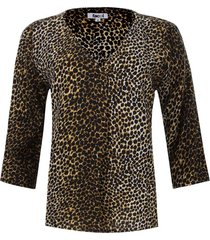 blusa prense animal print