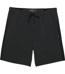 boy's o'neill interval tie waist shorts, size xl (18-20) - black