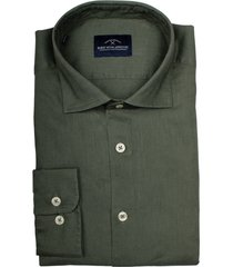 born with appetite linen shirt casual spread 21107li71/357 forest