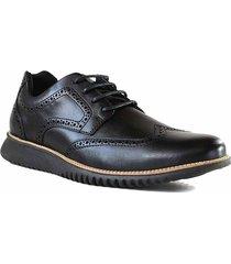 zapato negro briganti hombre lugo