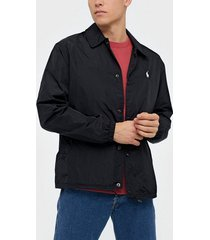 polo ralph lauren coaches unlined jacket jackor black