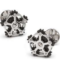 men's cufflinks, inc. rotating gear cuff links