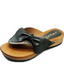 sandalia cuero hawaina nudo plata amano shoes