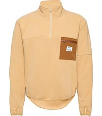 pullover recycled polyester sweat-shirts & hoodies fleeces & midlayers geel resteröds