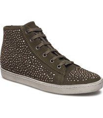 sneaker high top hoge sneakers bruin ilse jacobsen
