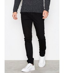 river island freddy black skinny jeans black