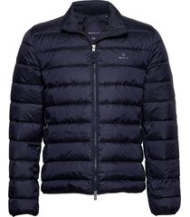 the light down jacket gevoerd jack blauw gant