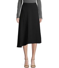 asymmetrical a-line skirt