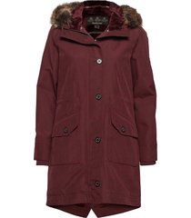 barbour tellin jacket parka rock jacka röd barbour