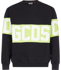 gcds logo-band cotton sweatshirt