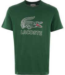 lacoste large logo t-shirt - green th6386