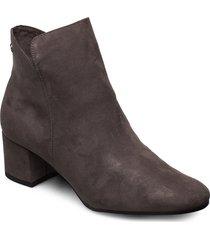 woms boots shoes boots ankle boots ankle boot - heel grå tamaris