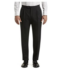 executive collection traditional fit flat front tuxedo separate pants - big & tall clearance by jos. a. bank