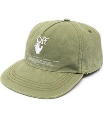 hand off baseball cap