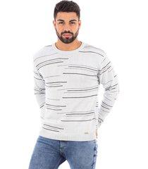 blusão de malha sumaré 10442 off-white