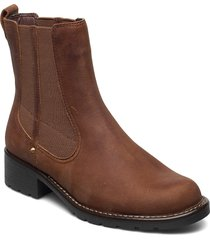 orinoco club shoes chelsea boots brun clarks