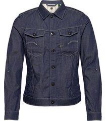 arc 3d slim jkt c jeansjack denimjack blauw g-star raw